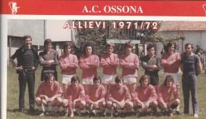 Foto allievi 1971-72